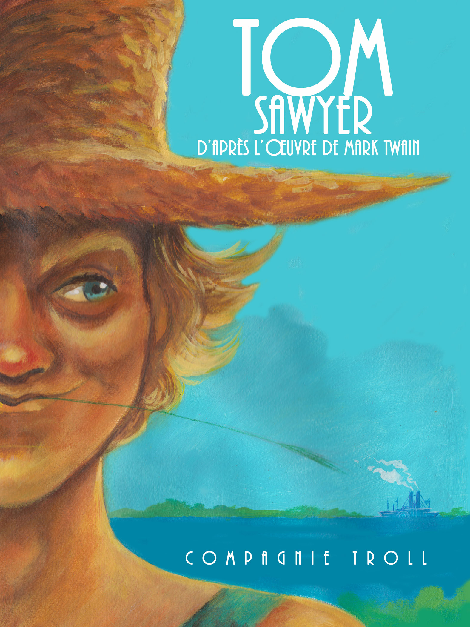 Affiche Tom sawyer